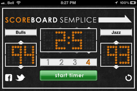 Scoreboard Semplice Screenshot 2
